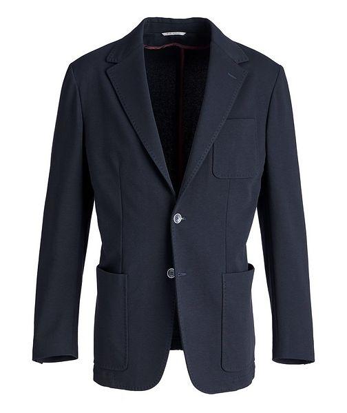 Canali Veston en jersey extensible