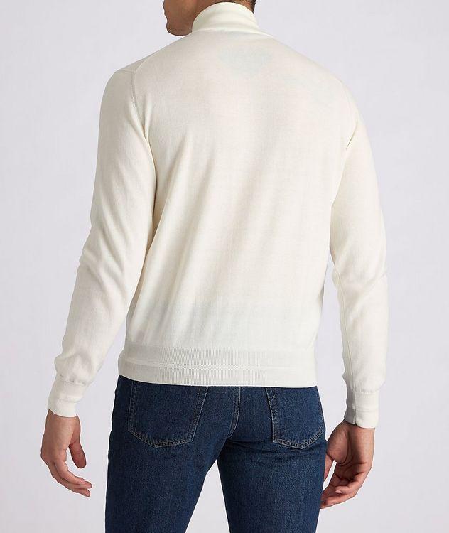 Half-Zip Knit Cotton Sweater picture 3