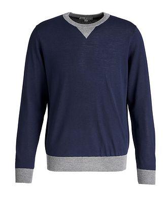 Canali Wool Knit Sweater