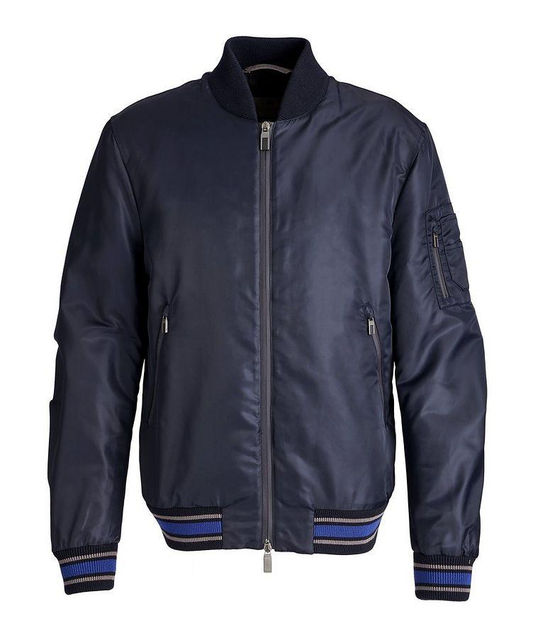 Nylon Bomber Jacket image 0