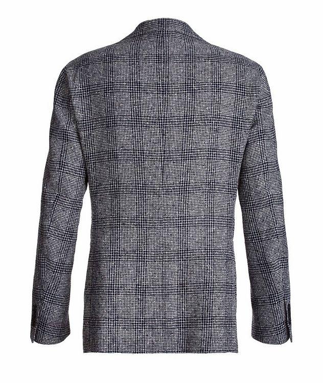 Mini-Check Linen-Blend Sport Jacket picture 2