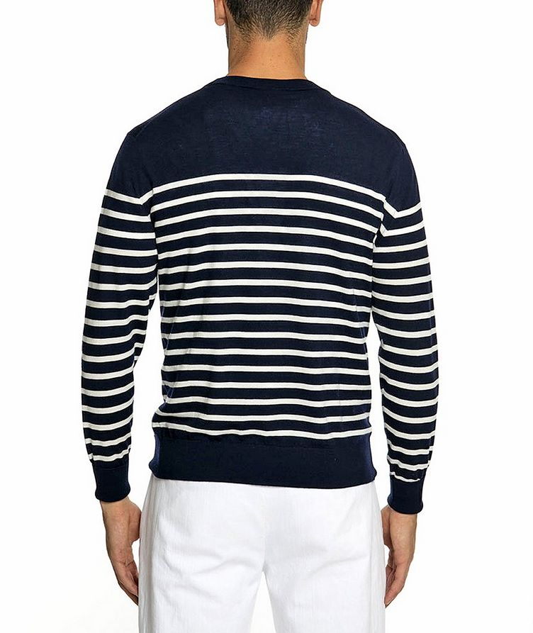 Striped Wool Sweater image 2