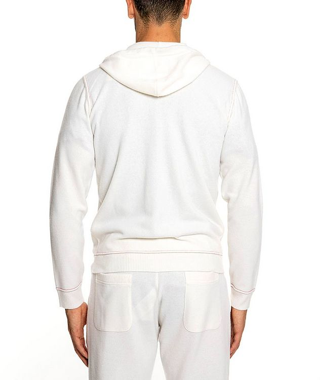 Wool-Cashmere Zip-Up Hoodie picture 3