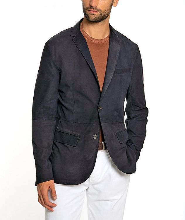 Suede Sports Jacket picture 2
