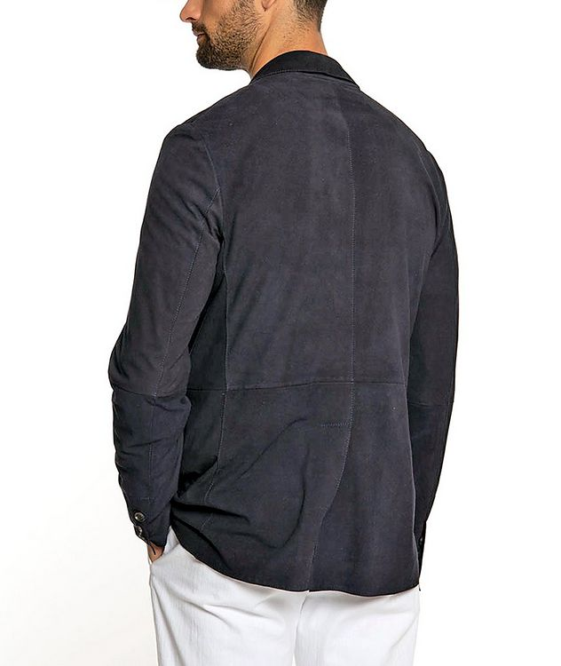 Suede Sports Jacket picture 3