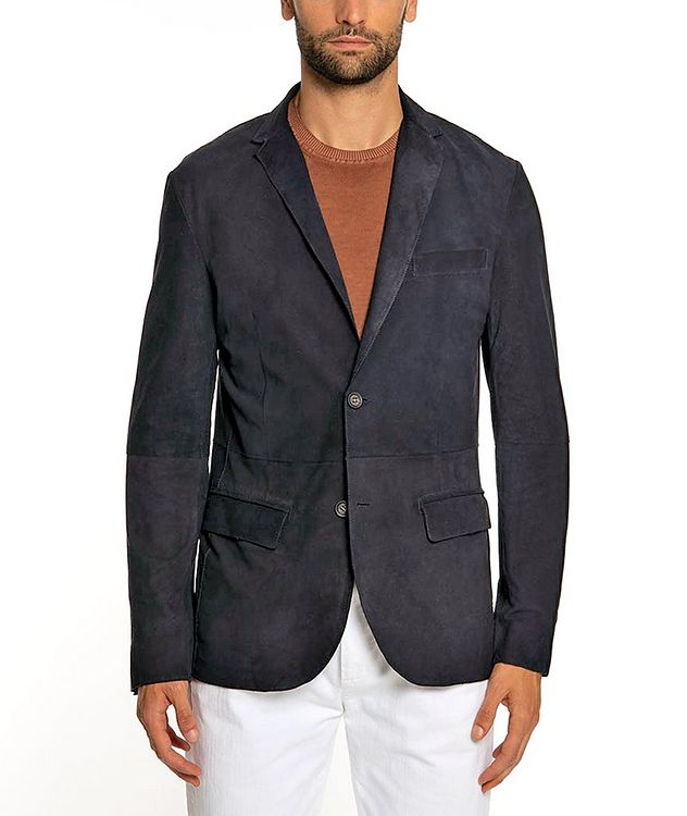 Suede Sports Jacket picture 1