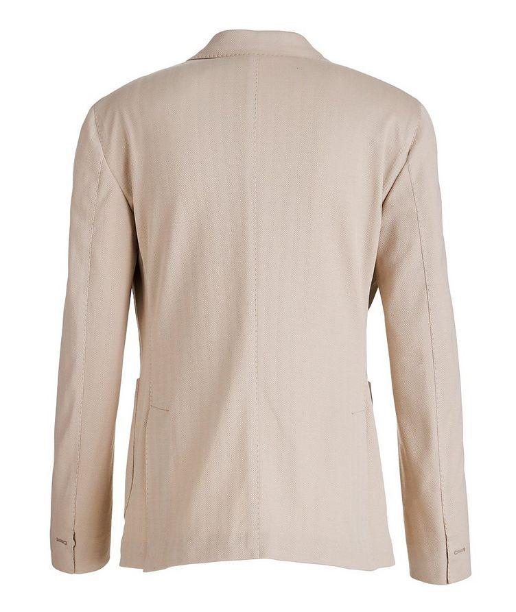 Soft Herringbone Cotton Sports Jacket image 1