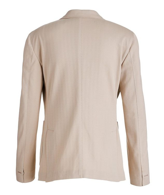 Soft Herringbone Cotton Sports Jacket picture 2