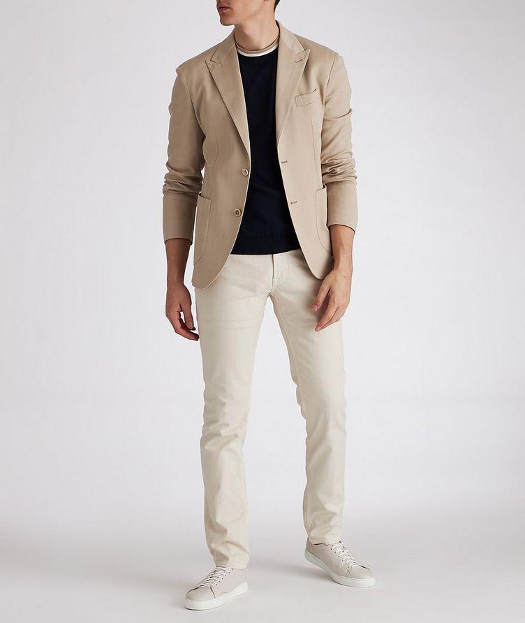 Soft Herringbone Cotton Sports Jacket image 3