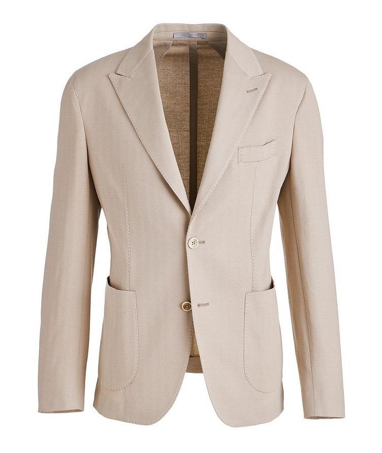 Soft Herringbone Cotton Sports Jacket image 0