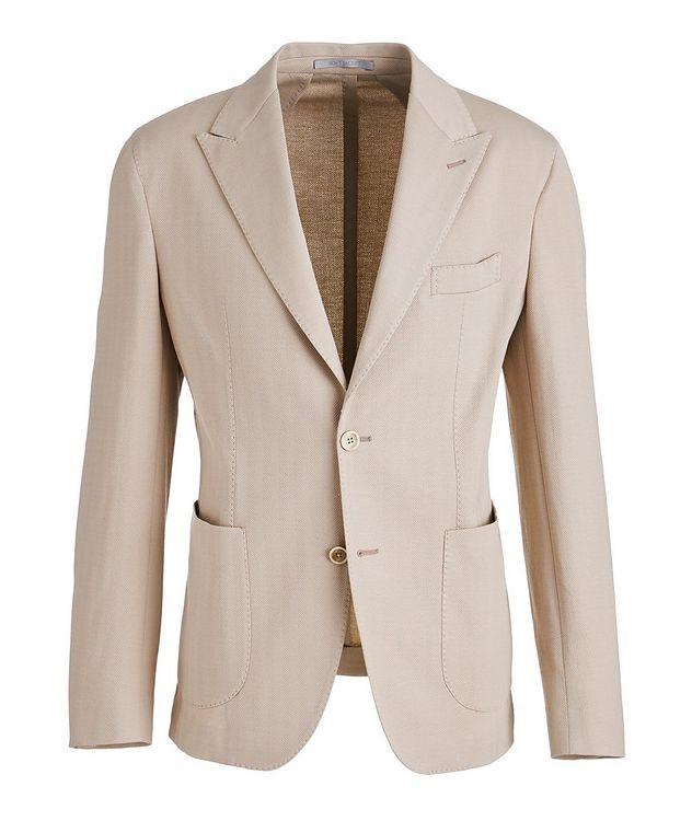 Soft Herringbone Cotton Sports Jacket picture 1