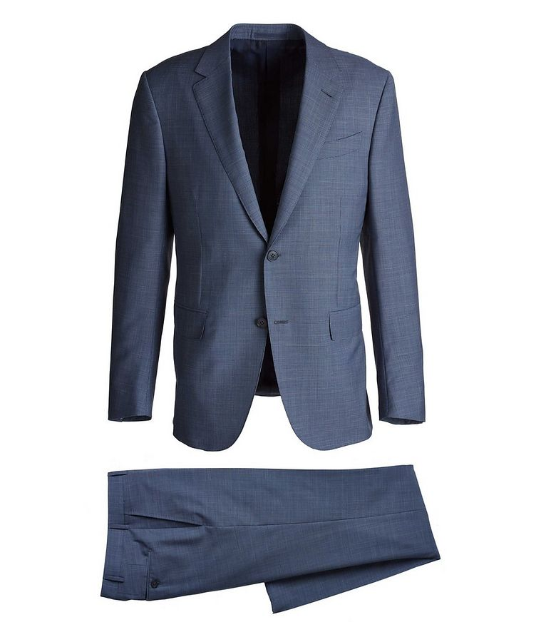 Milano Easy Mini Checked Suit image 0