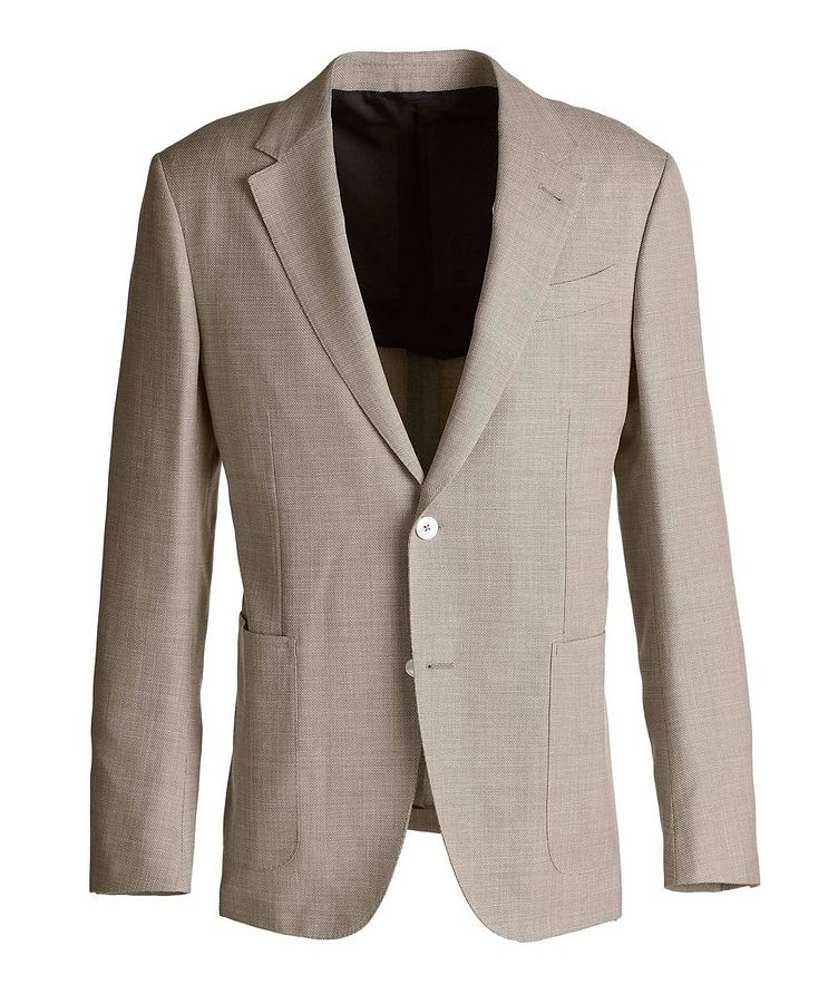 Milano Easy Wool, Silk, and Linen Sports Jacket image 0