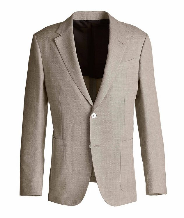 Milano Easy Wool, Silk, and Linen Sports Jacket picture 1
