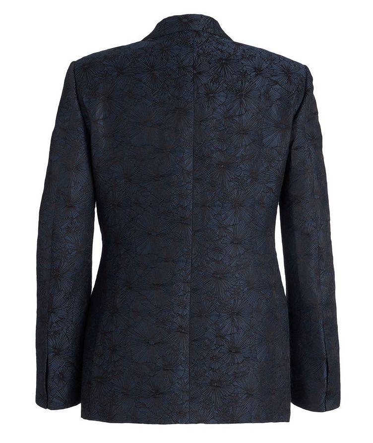 Venezia Floral Linen-Silk Tuxedo Jacket image 1