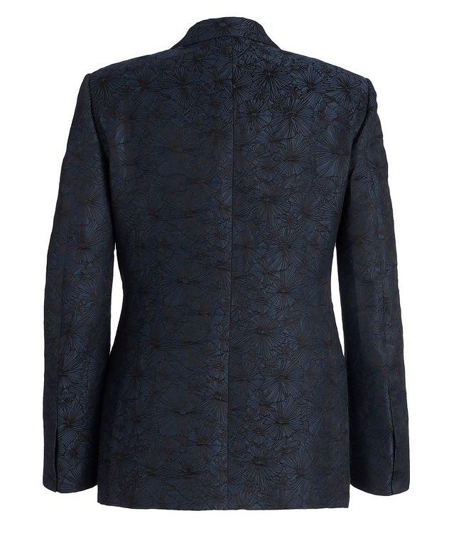 Venezia Floral Linen-Silk Tuxedo Jacket picture 2