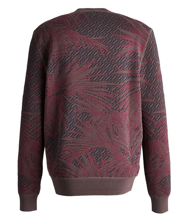 Couture Cotton-Silk Knit Sweater picture 2