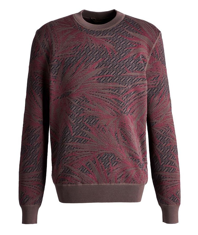 Couture Cotton-Silk Knit Sweater image 0