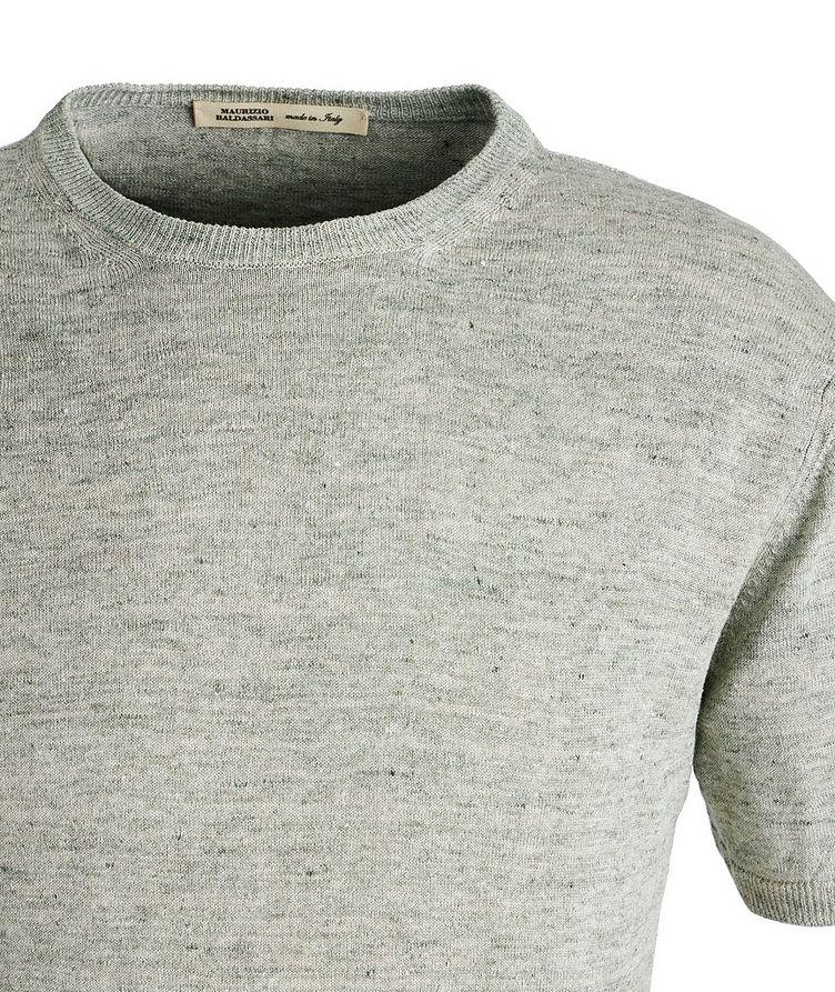 Knit Linen T-Shirt image 1