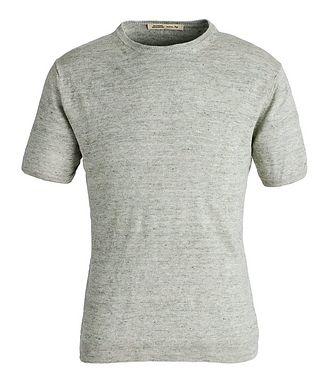 Maurizio Baldassari Knit Linen T-Shirt