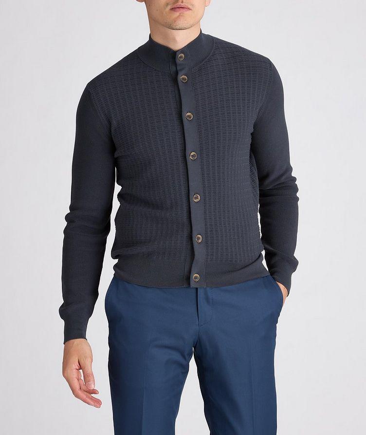 Knit Cotton Cardigan image 1