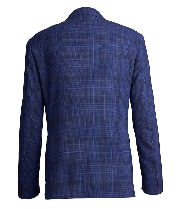 Impeccable Slim-Fit Wool Checked Suit image 2