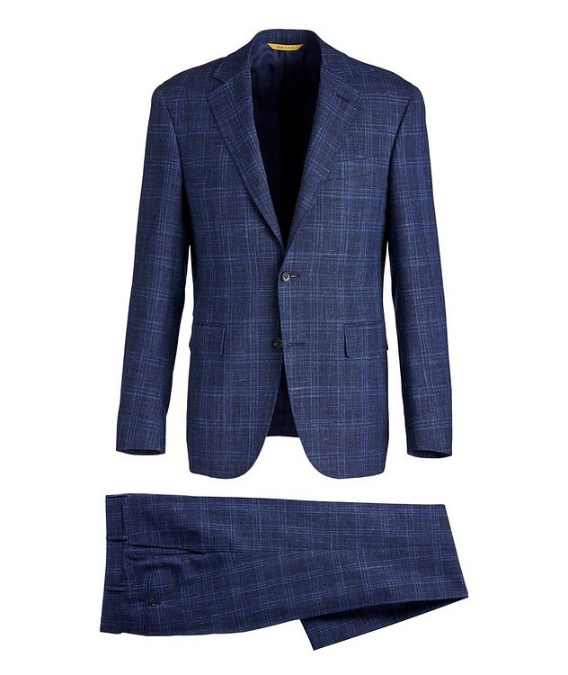Kei Travel Wool, Silk, and Linen Suit picture 1