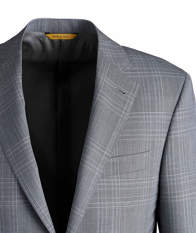 Kei Glen Check Wool Suit picture 3