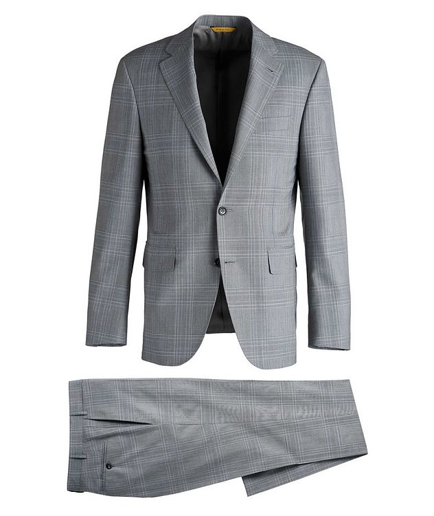 Kei Glen Check Wool Suit picture 1