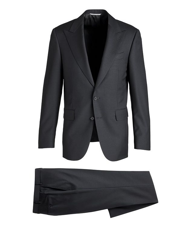Slim-Fit Wool Suit picture 1