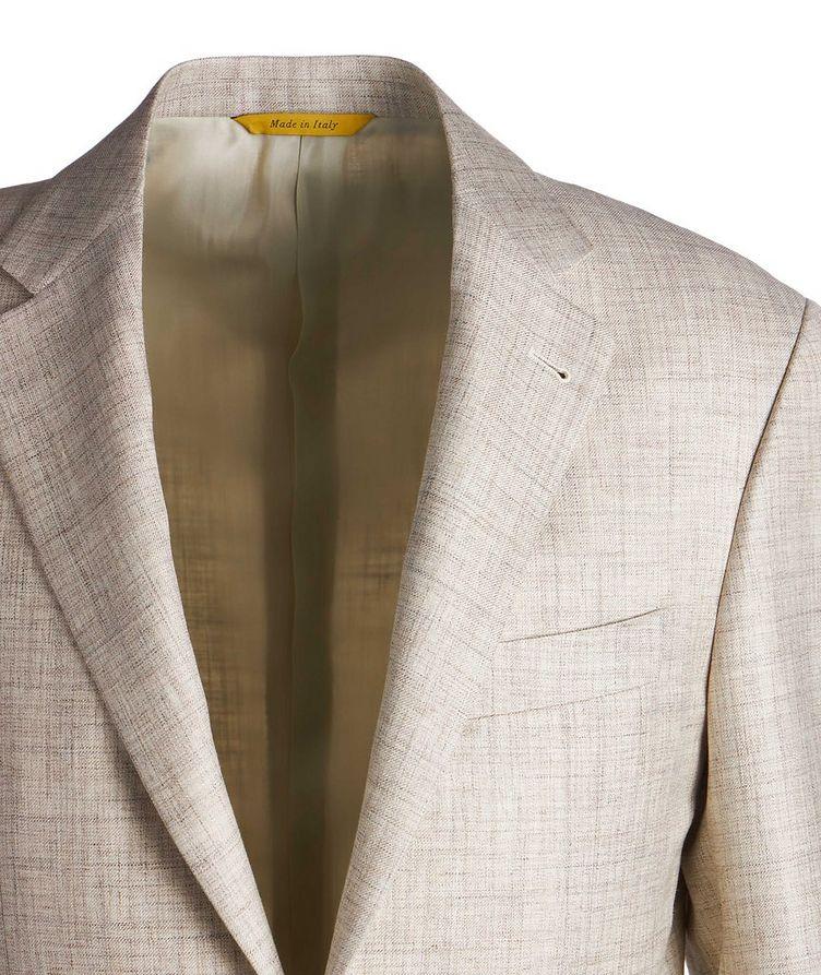 Kei Wool, Silk & Linen Sports Jacket image 2