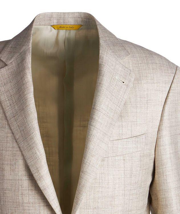 Kei Wool, Silk & Linen Sports Jacket picture 3