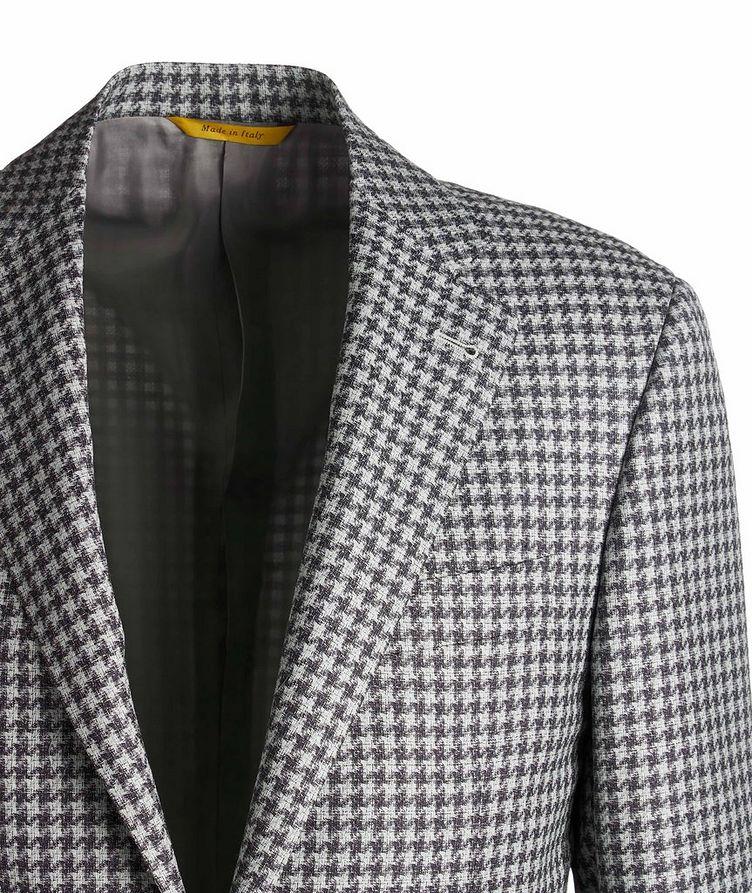 Kei Checked Wool Sports Jacket image 2