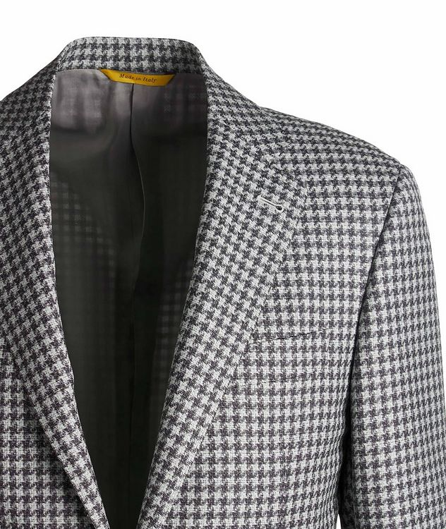 Kei Checked Wool Sports Jacket picture 3
