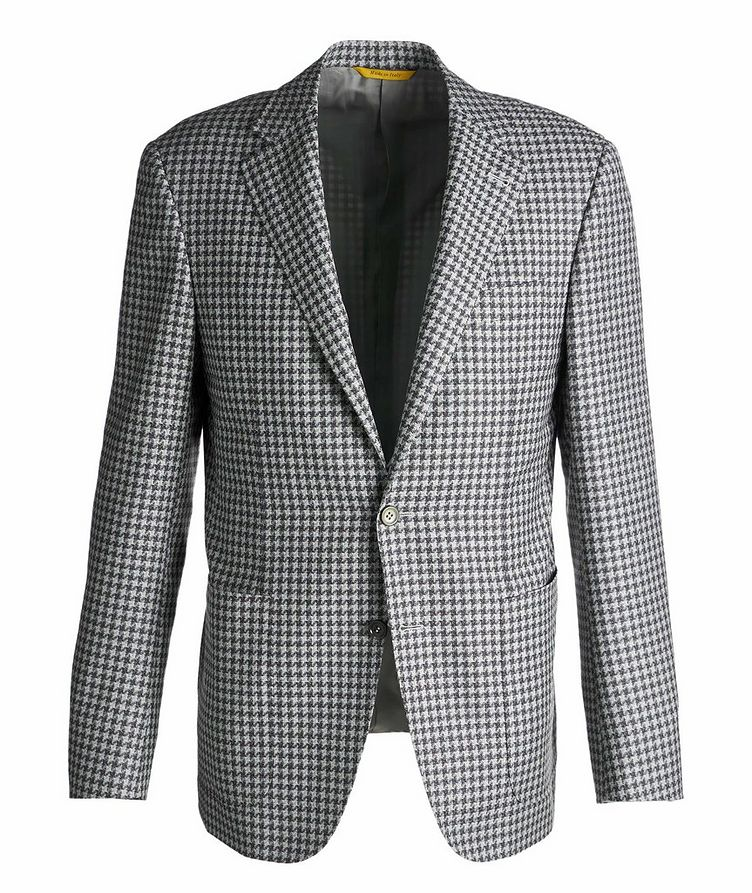 Kei Checked Wool Sports Jacket image 0