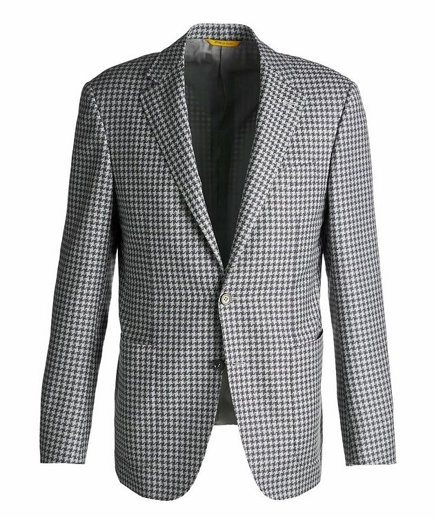 Kei Checked Wool Sports Jacket picture 1