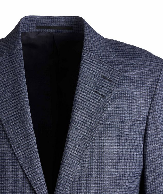 Gramott Slim-Fit Checked Sports Jacket picture 3
