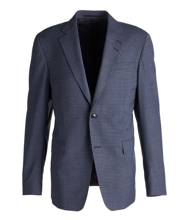 Gramott Slim-Fit Checked Sports Jacket picture 1