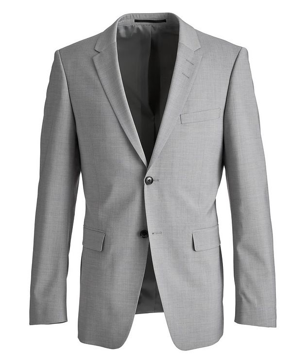 Slim-Fit Jerretts Stretch-Wool-Blend Sports Jacket picture 1
