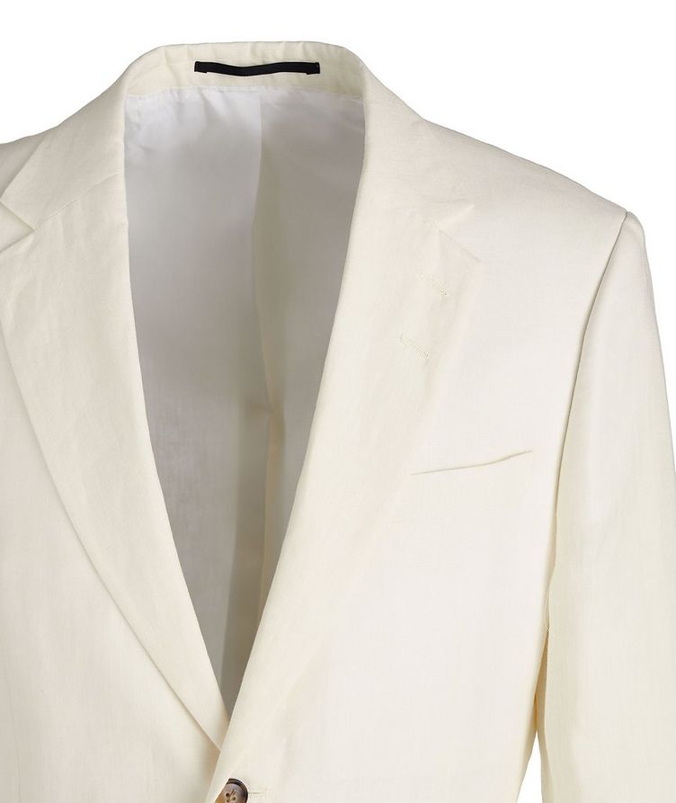 Slim-Fit Jamonte Linen Sports Jacket image 2