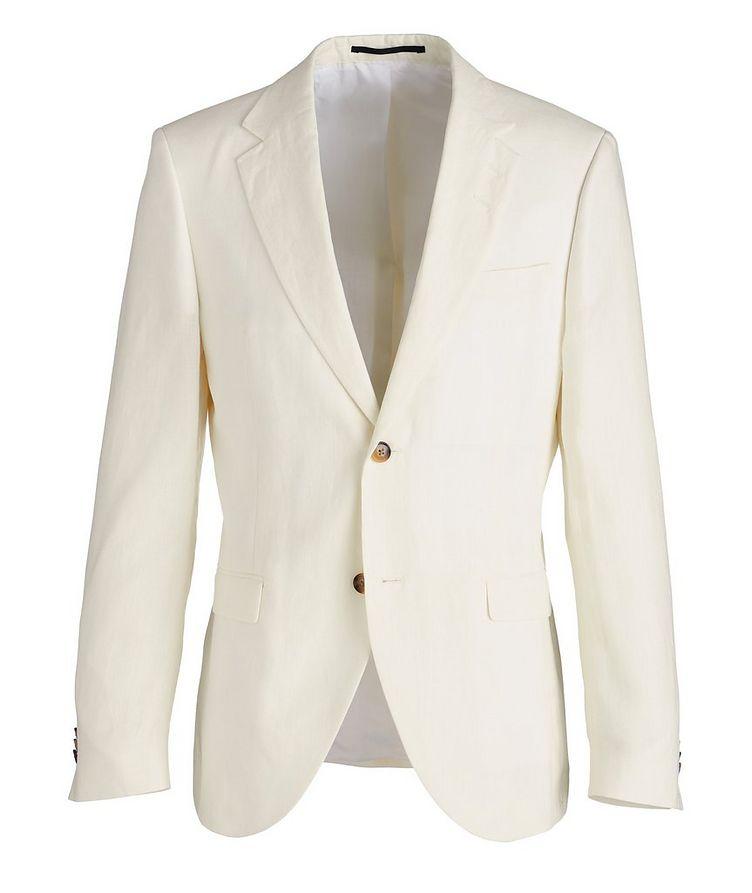 Slim-Fit Jamonte Linen Sports Jacket image 0