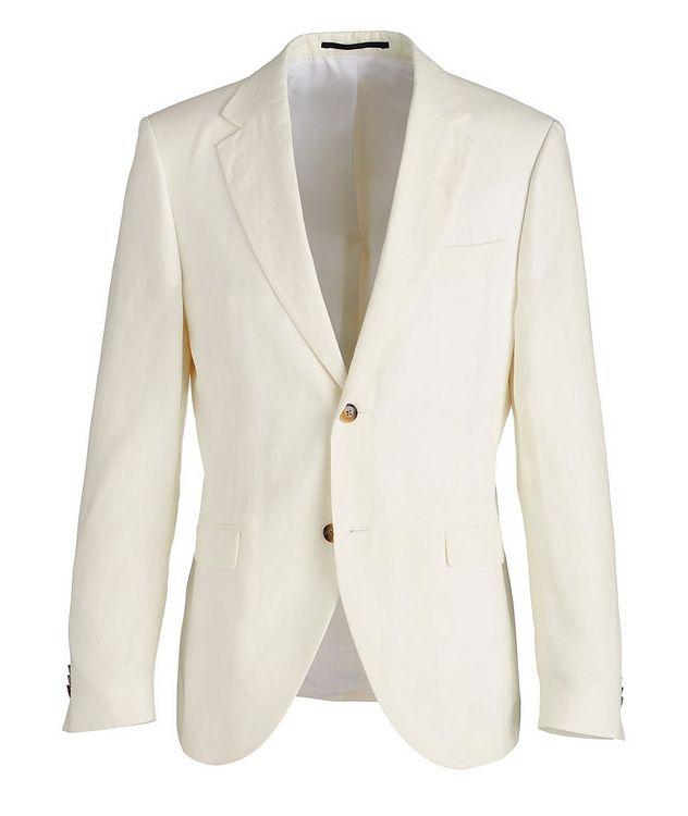 Slim-Fit Jamonte Linen Sports Jacket picture 1