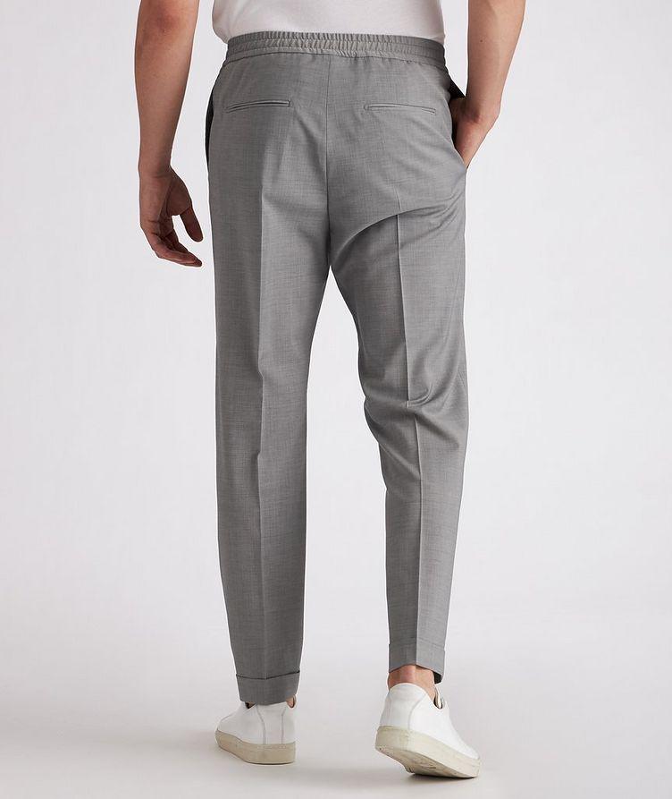 Isha Open Weave Stretch-Wool Blend Drawstring Pants image 2
