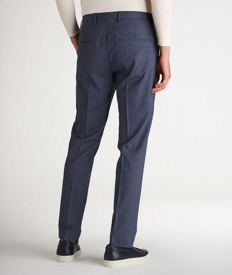 Slim Fit Checked Dress Pants image 2