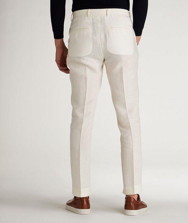 Slim Fit Linen Dress Pants picture 3