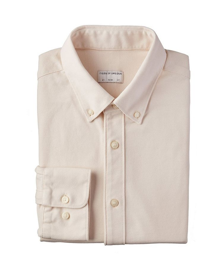 Fenald Long-Sleeve Cotton Sports Shirt image 0
