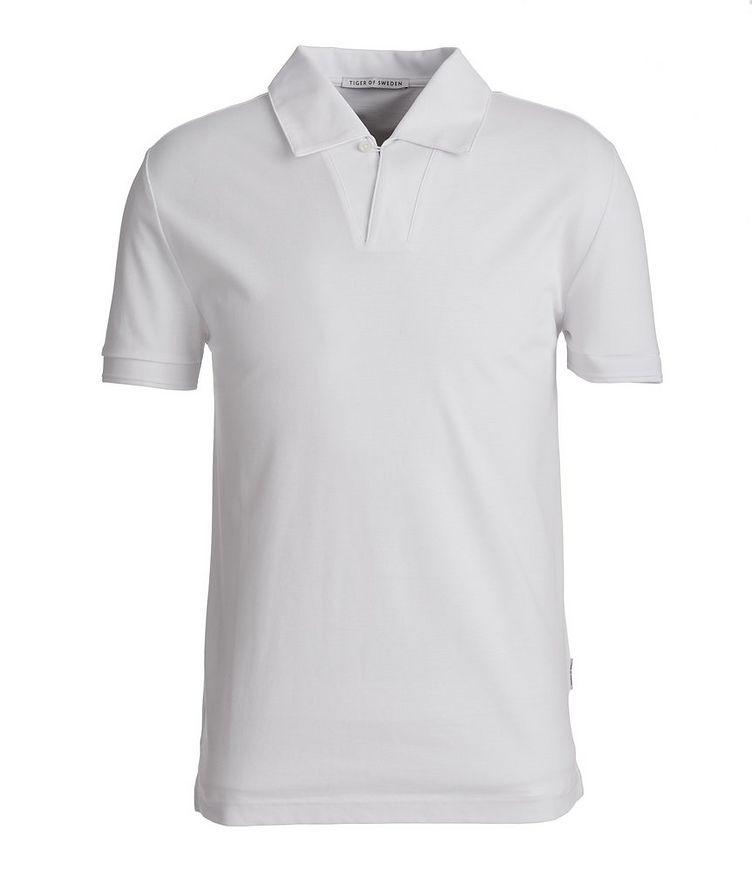 Aderico Piqué Mercerized Cotton Polo image 0