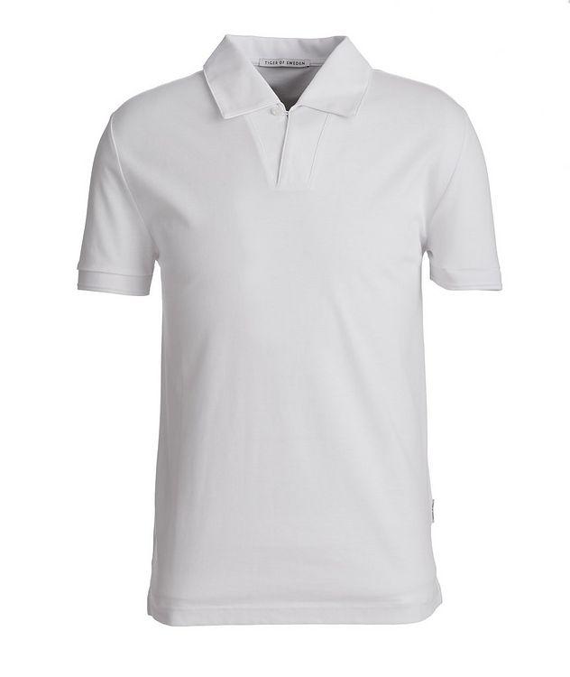 Aderico Piqué Mercerized Cotton Polo picture 1