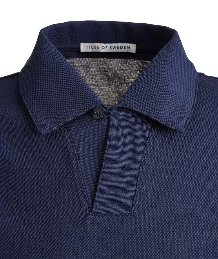 Aderico Piqué Mercerized Cotton Polo image 1
