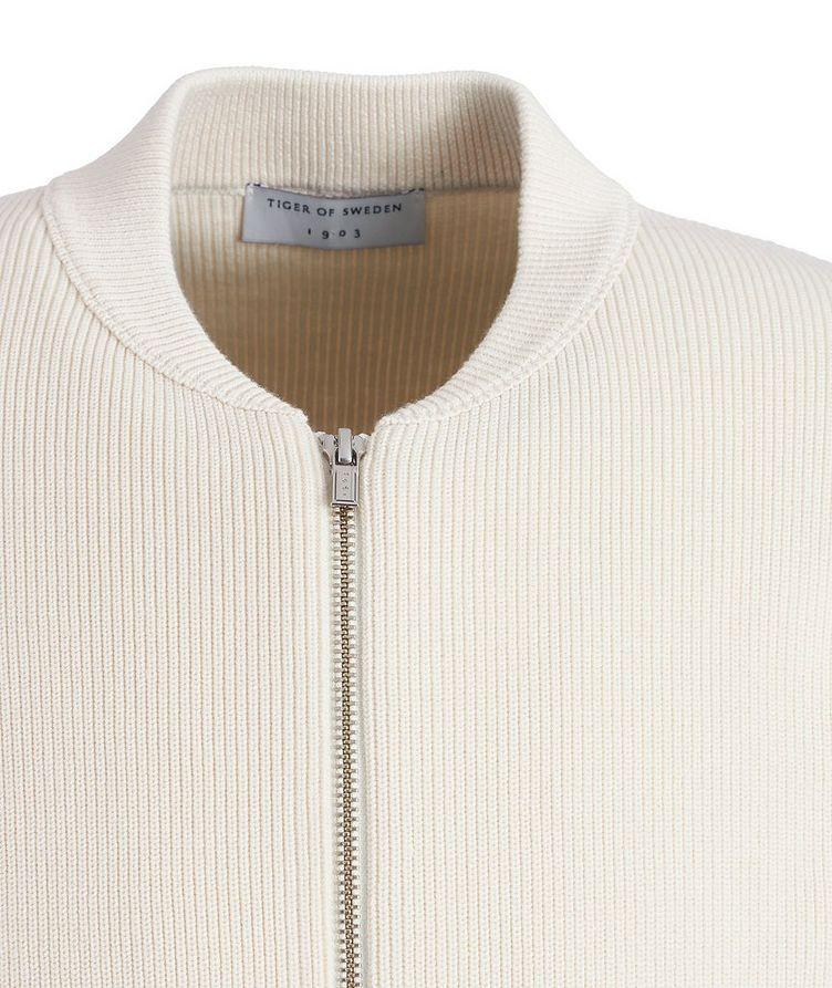 Lunar Organic Cotton Zip-Up Cardigan image 2